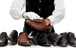 Как очистить обувь от крема