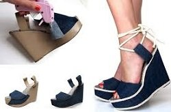 Изображение как обновить старую обувь... из коллекции Выкройки на сайте Пинми.ру.