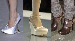 Модная обувь с квадратным носом